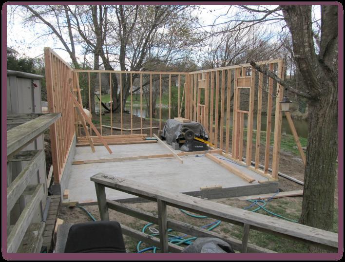 Building a Workshop: Framing Walls