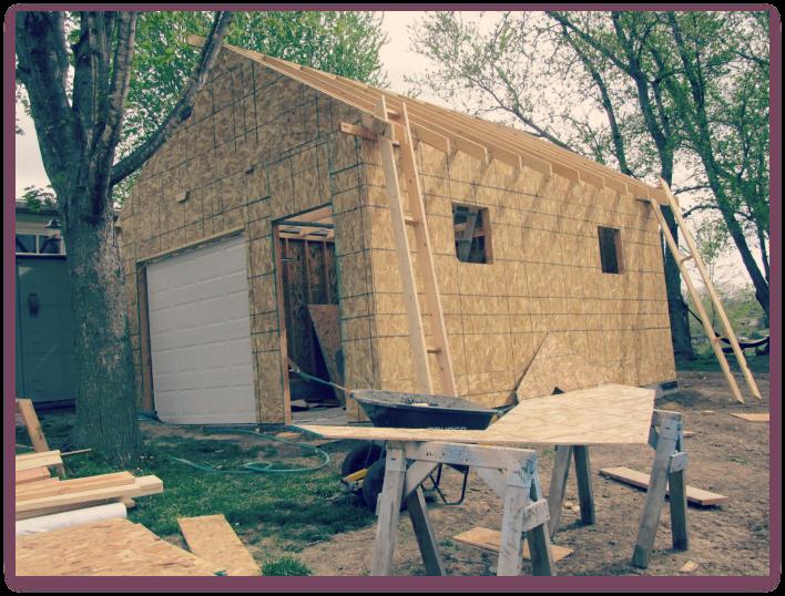 Building a Workshop: Roof Trusses & Gables