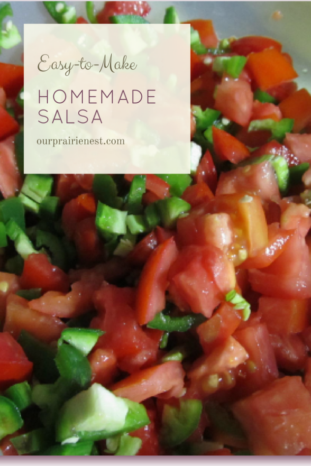 Easy-to-Make Salsa