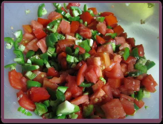 Preparing Salsa