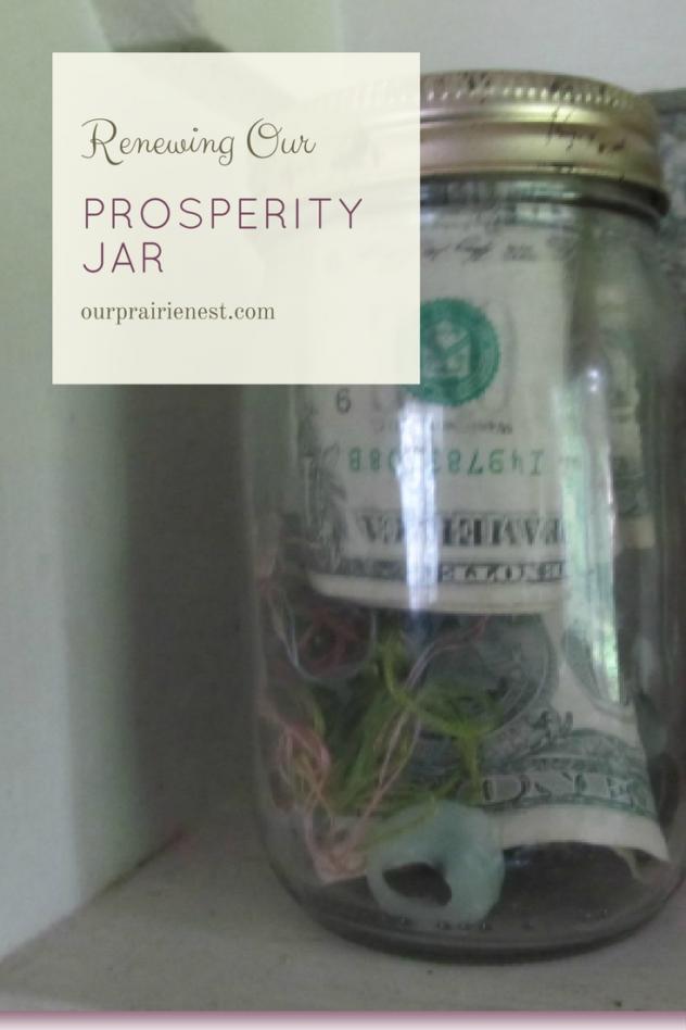 Renewing Our Prosperity Jar